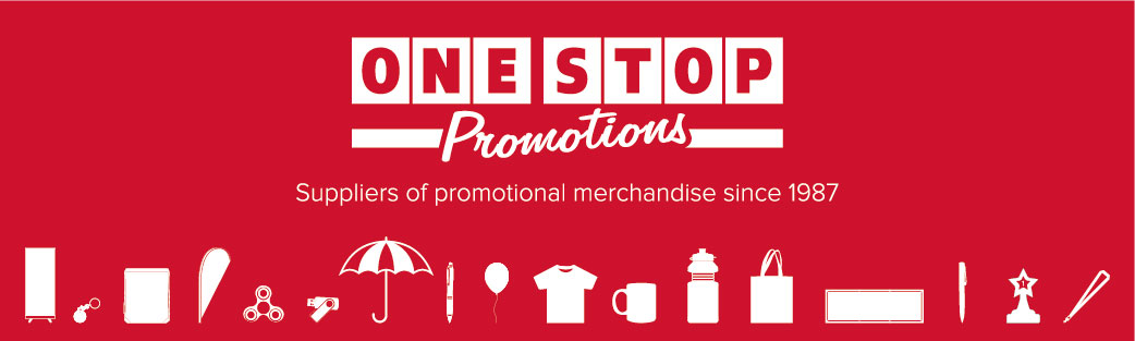 One Stop Promotions banner ad